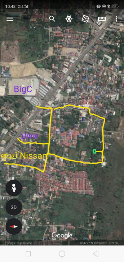 ที่ดิน 900000 ลพบุรี เมืองลพบุรี ท่าศาลา
